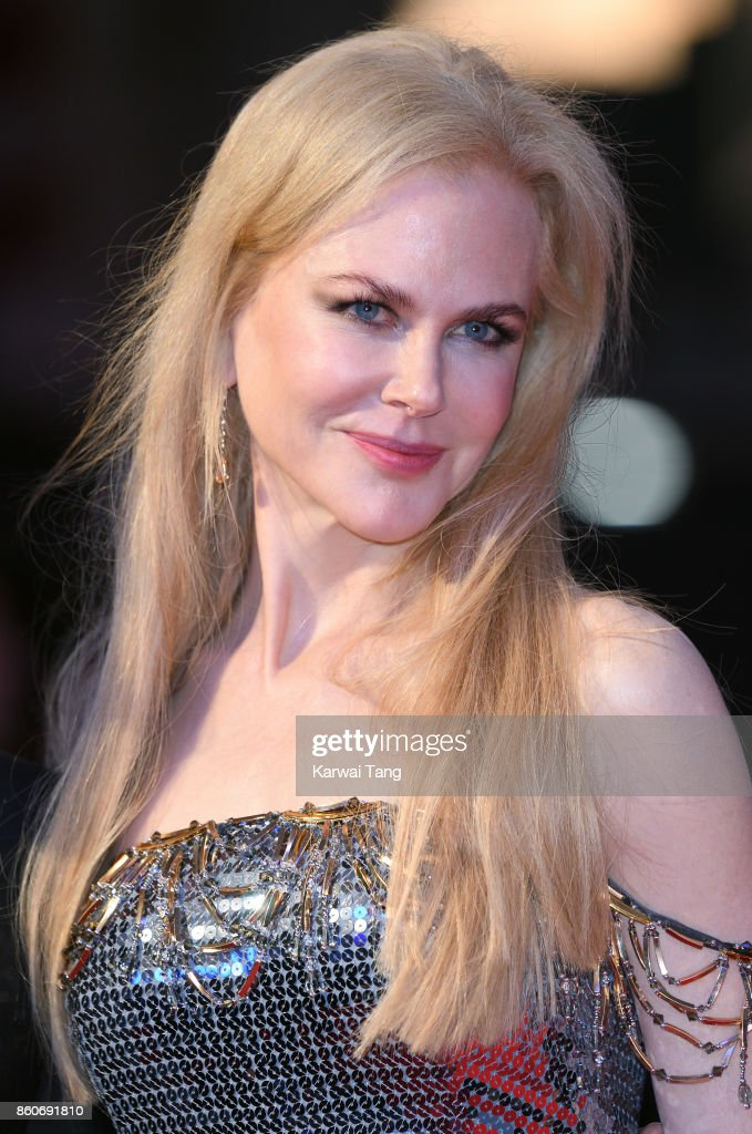 Nicole Kidman attends the Headline Gala Screening & UK Premiere of 'Killing of a Sacred Deer' during the 61st BFI London Film Festival at the Odeon Leicester Square on October 12, 2017 in London, England.