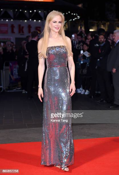 Nicole Kidman attends the Headline Gala Screening UK Premiere of 'Killing of a Sacred Deer' during the 61st BFI London Film Festival at the Odeon...
