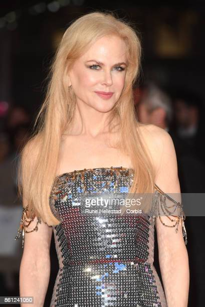 Nicole Kidman attends the Headline Gala Screening UK Premiere of 'Killing of a Sacred Deer' during the 61st BFI London Film Festival on October 12...
