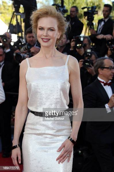 Nicole Kidman attends the 'La Venus A La Fourrure' premiere during The 66th Annual Cannes Film Festival at Theatre Lumiere on May 25 2013 in Cannes...