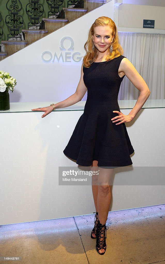 <a gi-track='captionPersonalityLinkClicked' href=/galleries/search?phrase=Nicole+Kidman&family=editorial&specificpeople=156404 ng-click='$event.stopPropagation()'>Nicole Kidman</a> attends the launch of OMEGA House on July 28, 2012 in London, England.