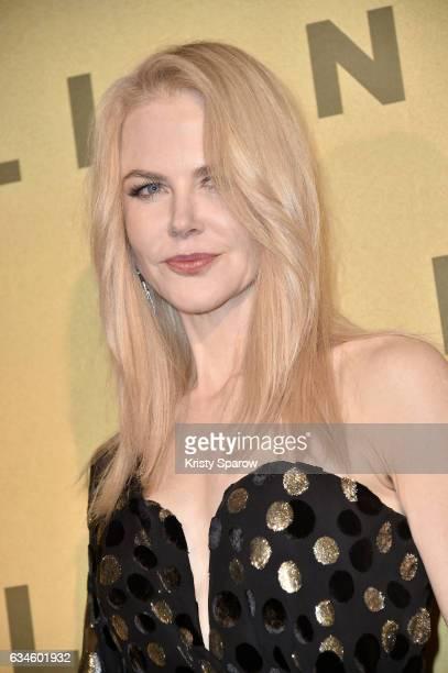 Nicole Kidman attends the 'Lion' Paris Premiere at Cinema Gaumont Opera on February 10 2017 in Paris France