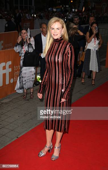 Nicole Kidman attends the 'Lion' Red Carpet Premiere for the 2016 Toronto International Film Festival Premiere at the Princess of Whales Theatre on...