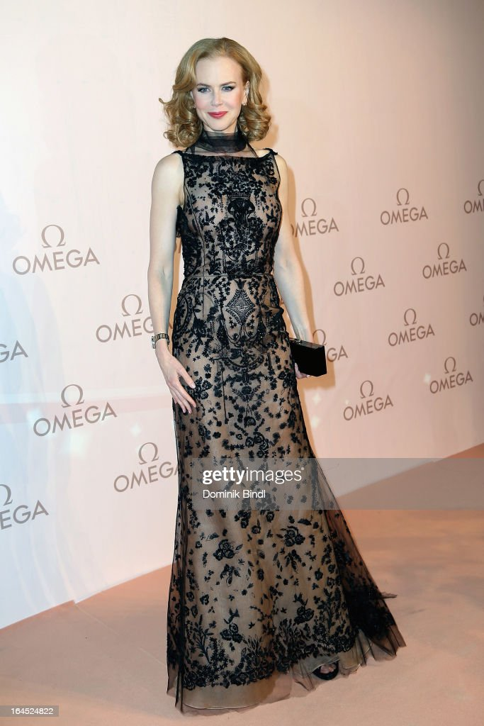 <a gi-track='captionPersonalityLinkClicked' href=/galleries/search?phrase=Nicole+Kidman&family=editorial&specificpeople=156404 ng-click='$event.stopPropagation()'>Nicole Kidman</a> attends the Omega Gala 'La Nuit Enchantee' at Gartenpalais Liechtenstein on March 23, 2013 in Vienna, Austria.