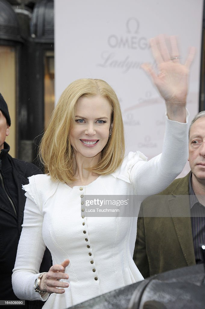 Nicole Kidman attends the Omega Press Junket at BAWAG PSK Zentrale on March 24, 2013 in Vienna, Austria.