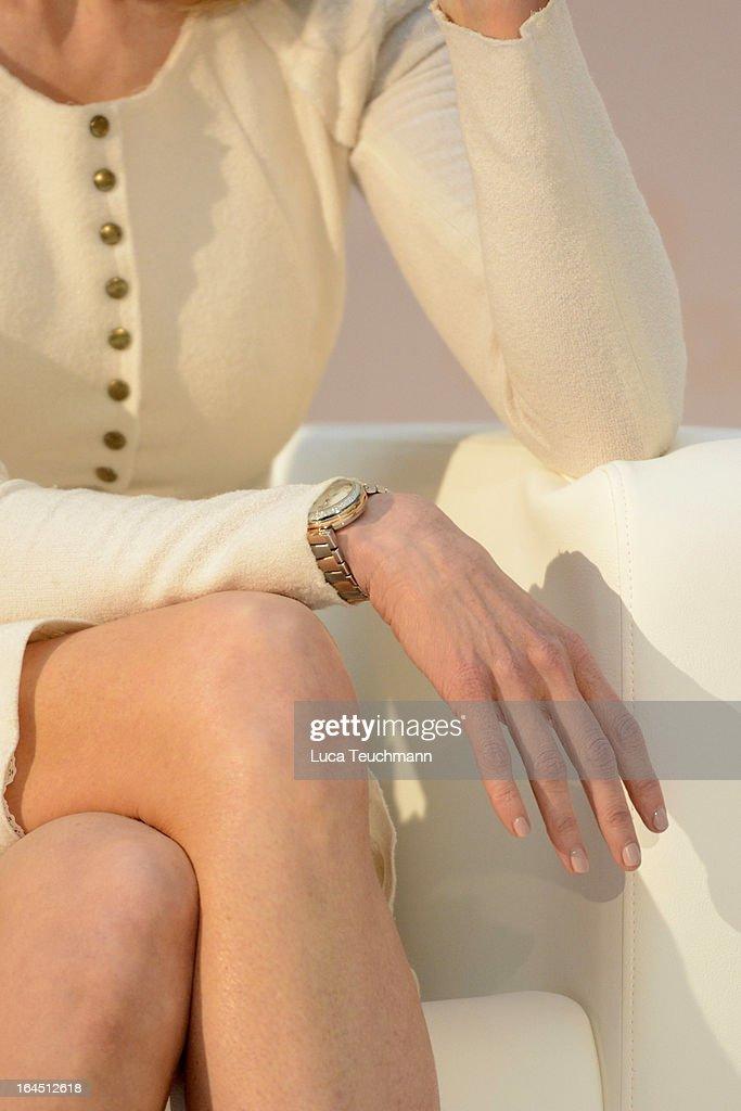 Nicole Kidman (watch detail) attends the Omega Press Junket at BAWAG PSK Zentrale on March 24, 2013 in Vienna, Austria.