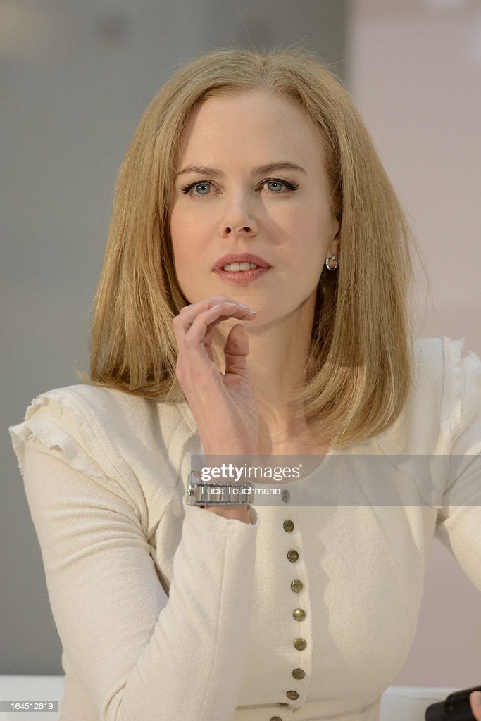 <a gi-track='captionPersonalityLinkClicked' href=/galleries/search?phrase=Nicole+Kidman&family=editorial&specificpeople=156404 ng-click='$event.stopPropagation()'>Nicole Kidman</a> attends the Omega Press Junket at BAWAG PSK Zentrale on March 24, 2013 in Vienna, Austria.