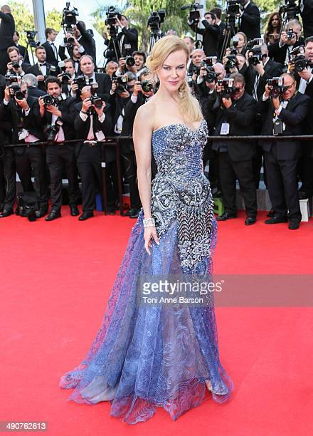 Nicole Kidman attends the opening ceremony and 'Grace of Monaco' premiere at the 67th Annual Cannes Film Festival on May 14 2014 in Cannes France