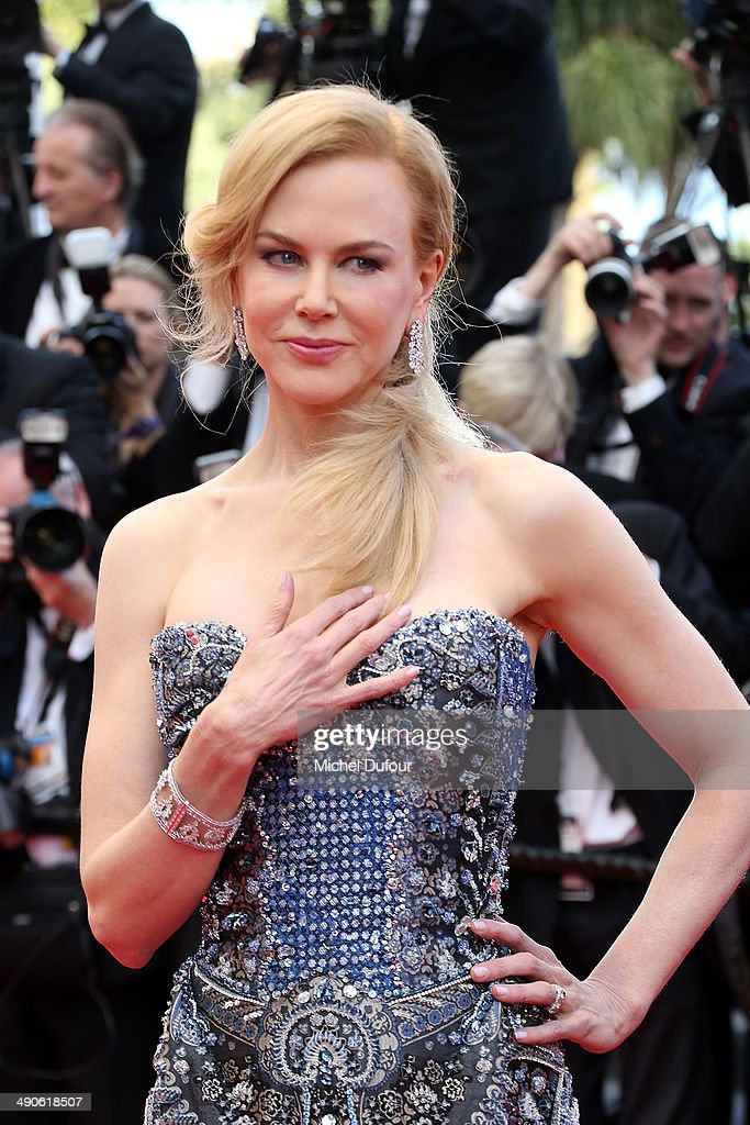 <a gi-track='captionPersonalityLinkClicked' href=/galleries/search?phrase=Nicole+Kidman&family=editorial&specificpeople=156404 ng-click='$event.stopPropagation()'>Nicole Kidman</a> attends the Opening ceremony and Premiere of 'Grace of Monaco' at the 67th Annual Cannes Film Festival on May 14, 2014 in Cannes, France.