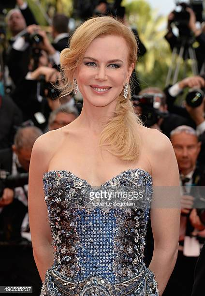 Nicole Kidman attends the Opening ceremony and the 'Grace of Monaco' Premiere during the 67th Annual Cannes Film Festival on May 14 2014 in Cannes...