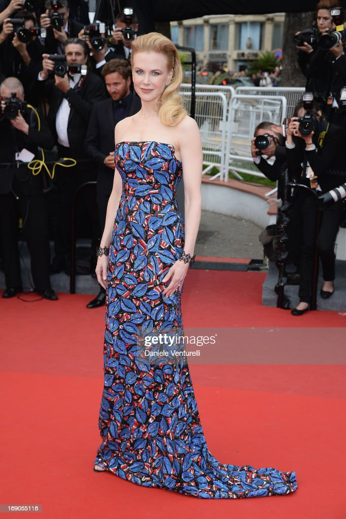 Nicole Kidman attends the Premiere of 'Inside Llewyn Davis' during the 66th Annual Cannes Film Festival at Palais des Festivals on May 19 2013 in...