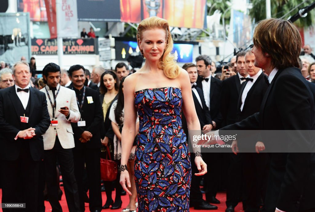 Nicole Kidman attends the Premiere of 'Inside Llewyn Davis' during the 66th Annual Cannes Film Festival at Palais des Festivals on May 19, 2013 in Cannes, France.