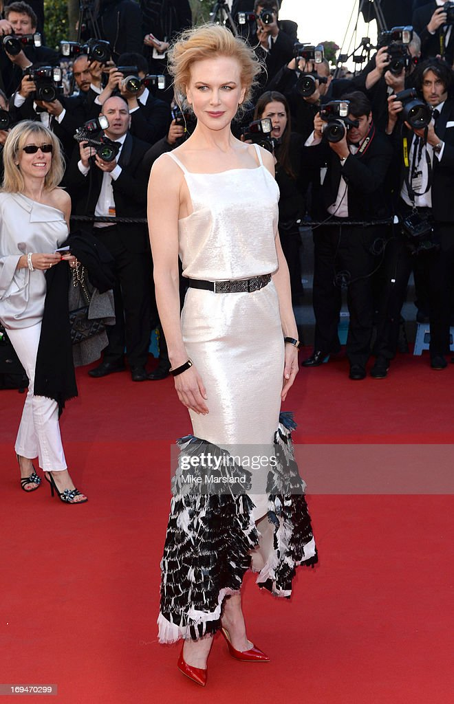 Nicole Kidman attends the Premiere of 'La Venus A La Fourrure' at The 66th Annual Cannes Film Festival on May 25, 2013 in Cannes, France.