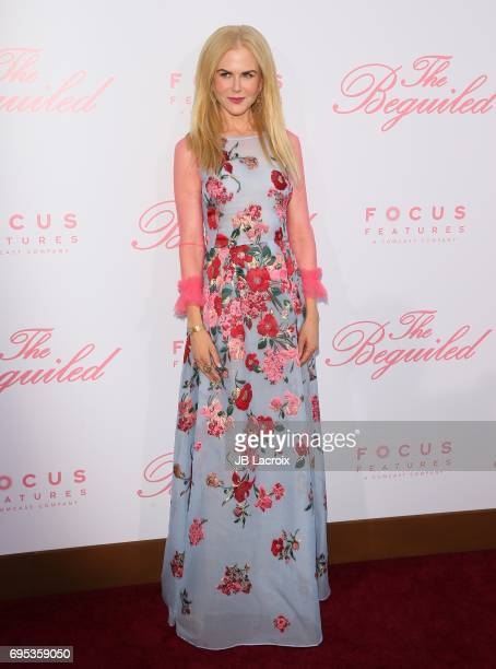 Nicole Kidman attends the premiere of 'The Beguiled' on June 12 2017 in Los Angeles California