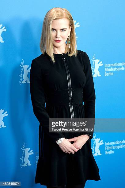 Nicole Kidman attends the 'Queen of the Desert' photocall during the 65th Berlinale International Film Festival at Grand Hyatt Hotel on February 6...