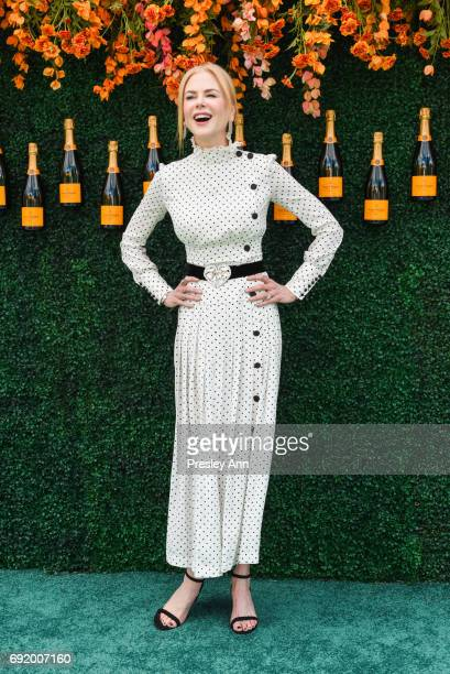 Nicole Kidman attends The Tenth Annual Veuve Clicquot Polo Classic Arrivals at Liberty State Park on June 3 2017 in Jersey City New Jersey
