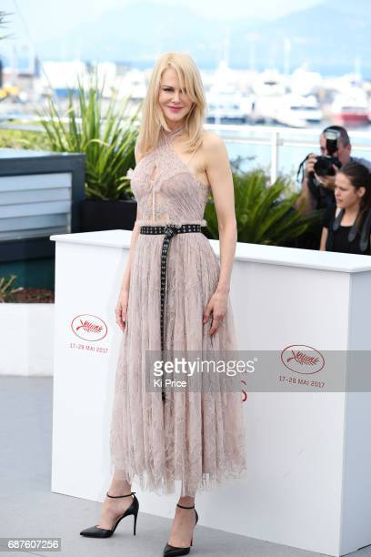 Nicole Kidman attends the 'The Beguiled' photocall during the 70th annual Cannes Film Festival at Palais des Festivals on May 24 2017 in Cannes France
