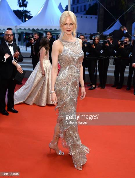 Nicole Kidman attends the 'The Beguiled' screening during the 70th annual Cannes Film Festival at Palais des Festivals on May 24 2017 in Cannes France