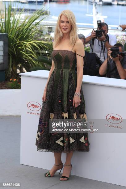Nicole Kidman attends the 'The Killing Of A Sacred Deer' Photocall during the 70th annual Cannes Film Festival at Palais des Festivals on May 22 2017...