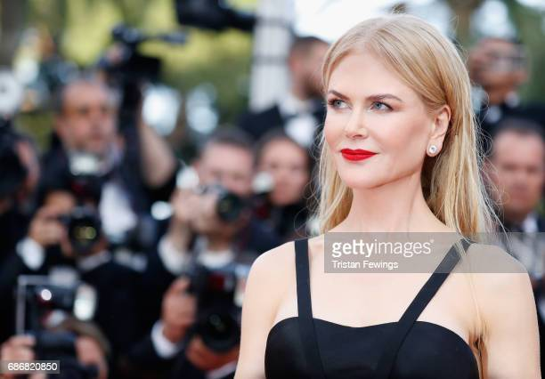 Nicole Kidman attends the 'The Killing Of A Sacred Deer' screening during the 70th annual Cannes Film Festival at Palais des Festivals on May 22 2017...