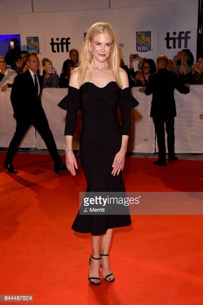 Nicole Kidman attends 'The Upside' premiere during the 2017 Toronto International Film Festival at Roy Thomson Hall on September 8 2017 in Toronto...