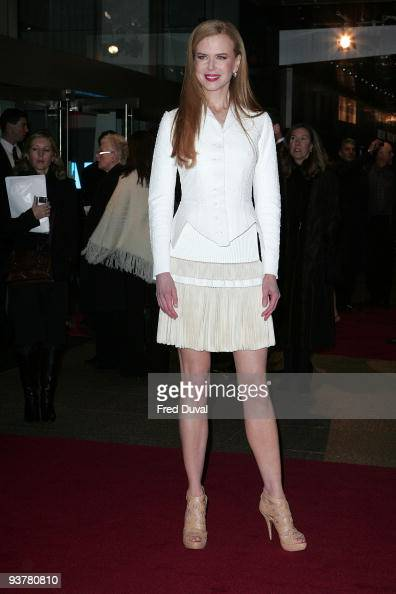 Nicole Kidman attends the World Premiere of 'Nine' at Odeon Leicester Square on December 3 2009 in London England