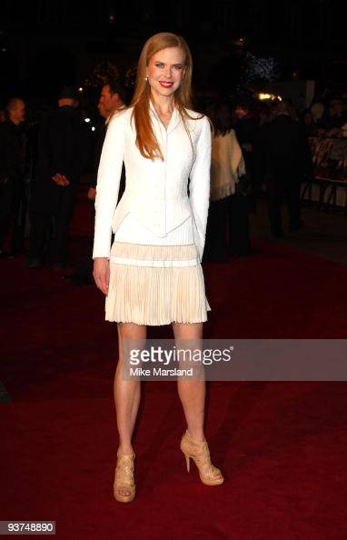 Nicole Kidman attends the World Premiere of Nine at the Odeon Leicester Square on December 03 2009 in London England