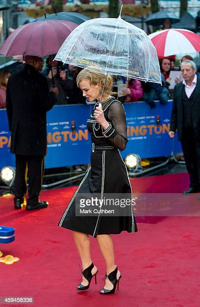 Nicole Kidman attends the World Premiere of 'Paddington' at Odeon Leicester Square on November 23 2014 in London England