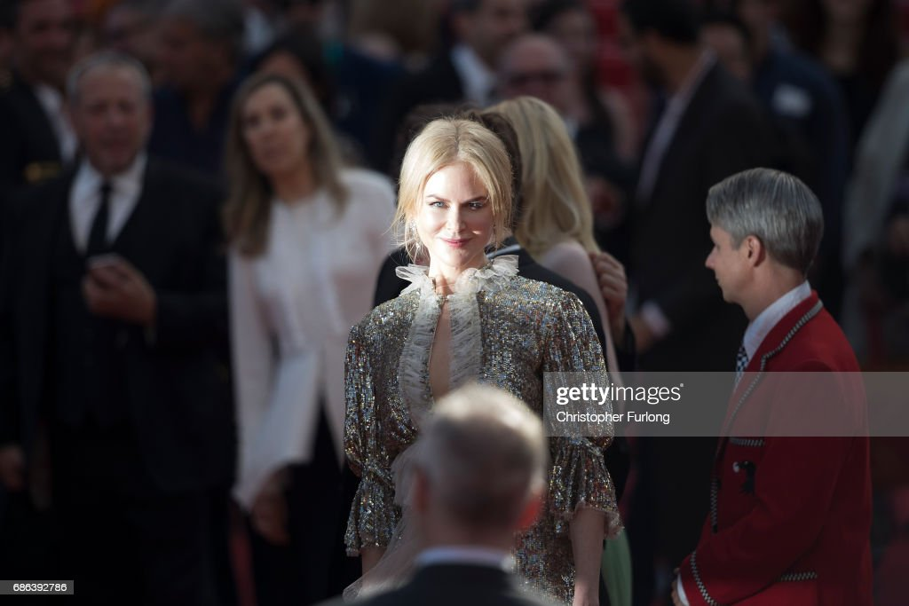 Nicole Kidman departs after the 'How To Talk To Girls At Parties' screening during the 70th annual Cannes Film Festival at on May 21, 2017 in Cannes, France. Celebrities, fans and the movie world have descended on Cannes for this year's festival of the screen. For seventy years The Croisette Boulevard has always been the centre of athe place watch the rich and dandy and people from all walks of life to promenade.