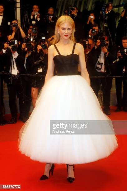 Nicole Kidman departs after the 'The Killing Of A Sacred Deer' screening during the 70th annual Cannes Film Festival at Palais des Festivals on May...