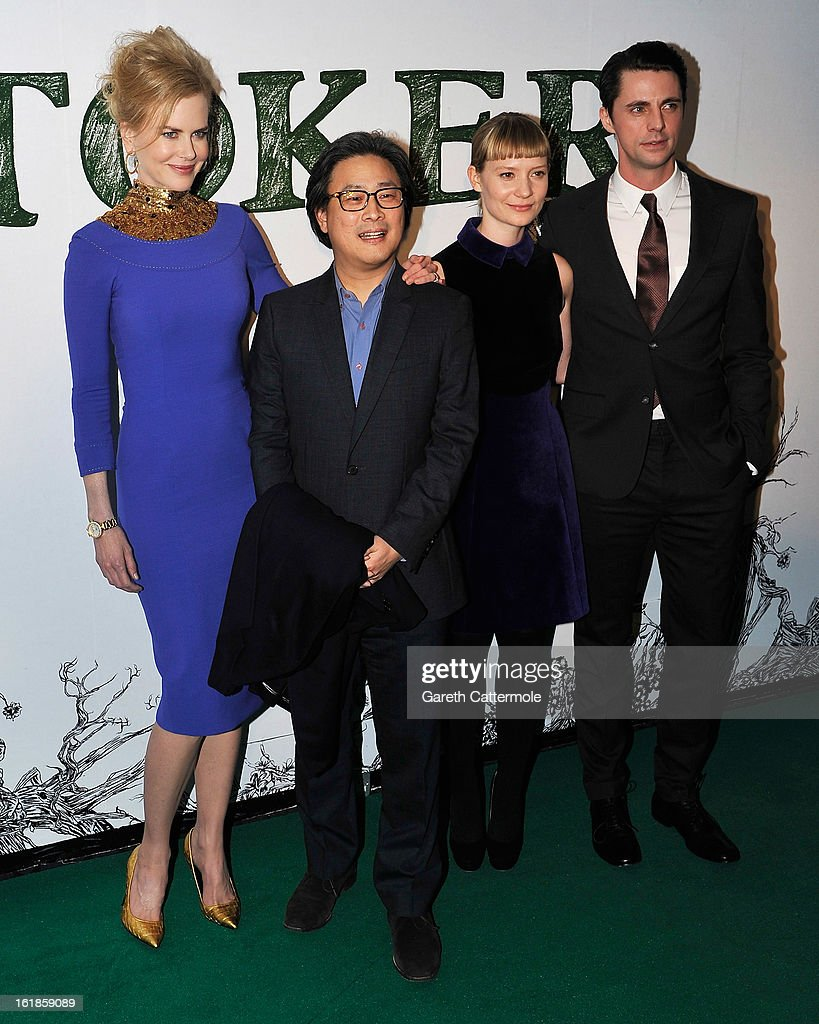 Nicole Kidman, director Park Chan-Wook, Mia Wasikowska and Matthew Goode attend a special screening of Stoker at Curzon Soho on February 17, 2013 in London, England.