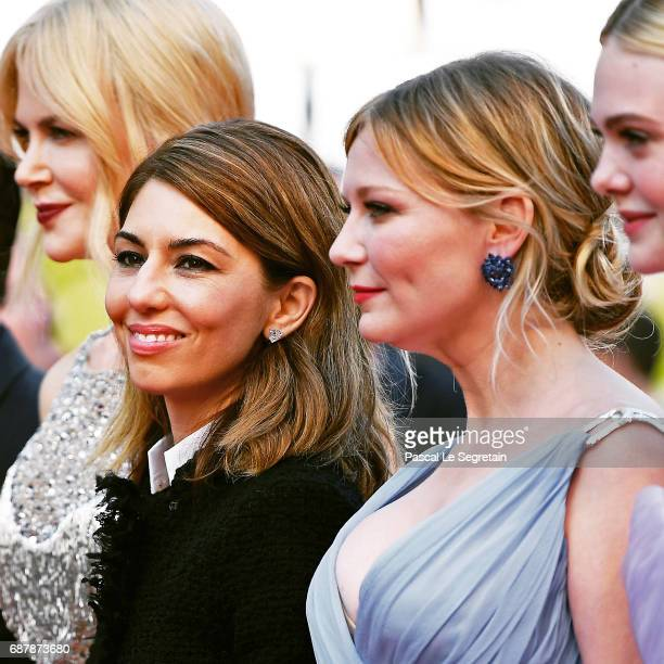 Nicole Kidman director Sofia Coppola Kirsten Dunst Elle Fanning attend the 'The Beguiled' screening during the 70th annual Cannes Film Festival at...
