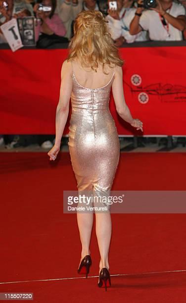 Nicole Kidman during 1st Annual Rome Film Festival 'Fur An Imaginary Portrait of Diane Arbus' Premiere at Auditorium Parco della Musica in Rome Italy