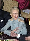 Nicole Kidman during The Simon Wiesenthal Center Honors Rupert Murdoch at The Waldorf Astoria Grand Ballroom in New York City New York United States