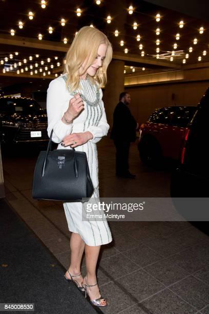 Nicole Kidman is seen at the 2017 Toronto International Film Festival on September 9 2017 in Toronto Canada
