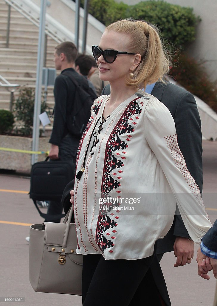 Nicole Kidman is seen during the The 66th Annual Cannes Film Festival on May 19, 2013 in Cannes, France.