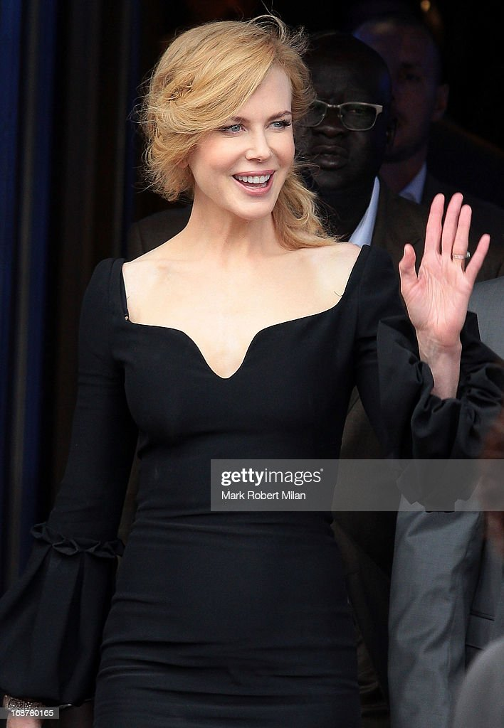 Nicole Kidman is seen leaving the jury photocall during the 66th Annual Cannes Film Festival on May 15, 2013 in Cannes, France.