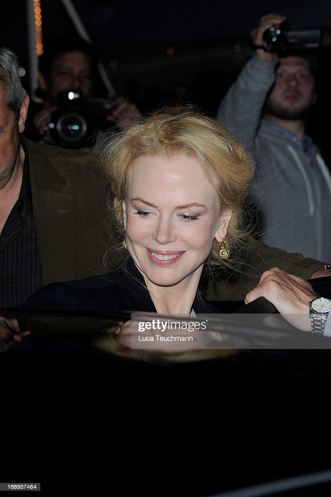 Nicole Kidman is seen The 66th Annual Cannes Film Festival on May 17, 2013 in Cannes, France.
