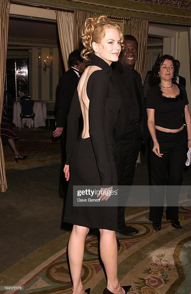 Nicole Kidman, London Film Critics Circle Awards 2002, At The Dorchester Hotel, London