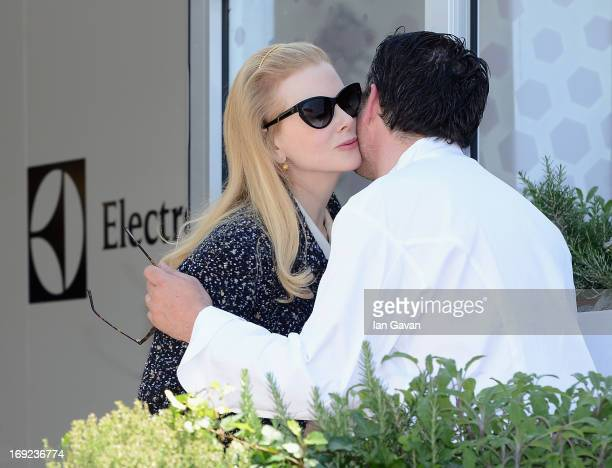 Nicole Kidman of the Grand Jury with Electrolux partner chef Bruno Oger attends Chef's Table by Electrolux with Bruno Oger at Electrolux Agora...