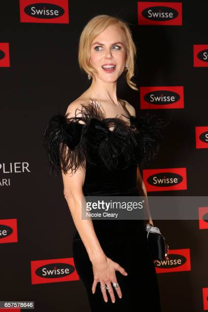 Nicole Kidman on the red carpet ahead of the Swisse Wellness 'Power Your Passion' Event on March 25 2017 in Melbourne Australia