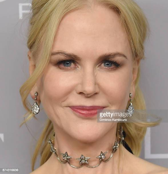 Nicole Kidman poses backstage at Glamour's 2017 Women of The Year Awards at Kings Theatre on November 13 2017 in Brooklyn New York
