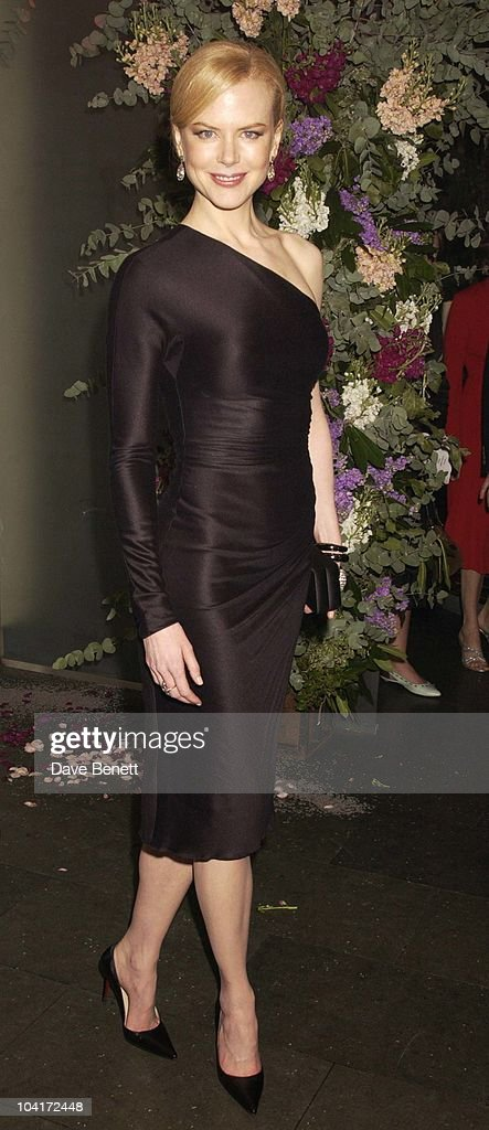 Nicole Kidman, 'The Hours' Uk Charity Movie Premiere Held At The Chelsea Cinema In London.