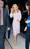 Celebrity Sightings in New York City - October 21, 2017