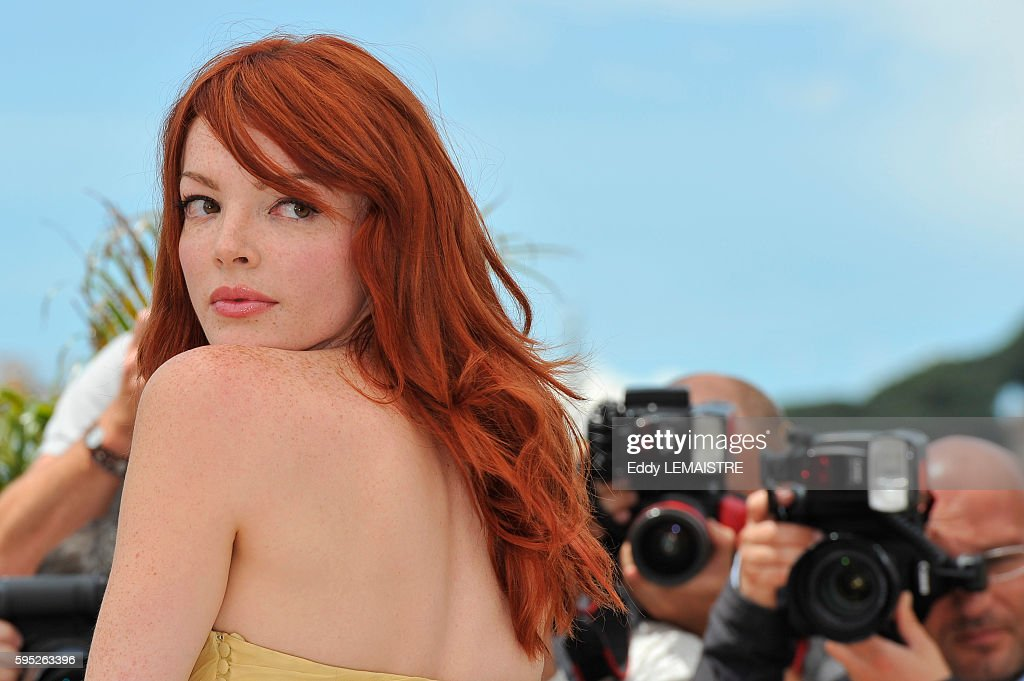 Nicole Laliberte at the photo call for Kaboom during the 63rd Cannes International Film Festival