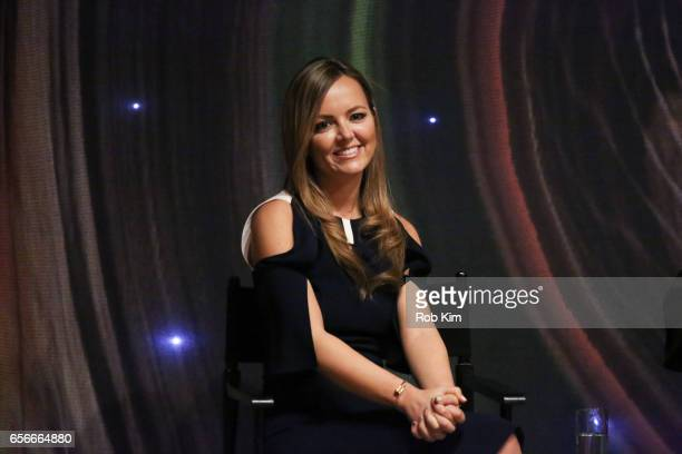 Nicole Lapin attends the Female Bosses celebration and BOSS BITCH book launch and interactive panel event at The Core Club on March 22 2017 in New...