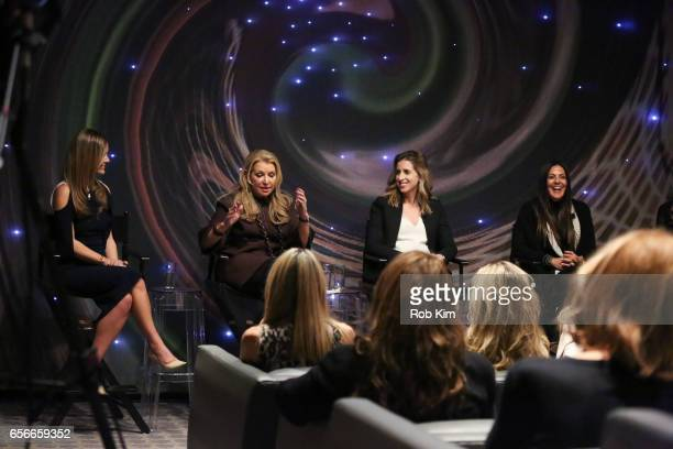 Nicole Lapin Mindy Grossman Katia Beauchamp and Lavinia Errico attend the Female Bosses celebration and BOSS BITCH book launch and interactive panel...