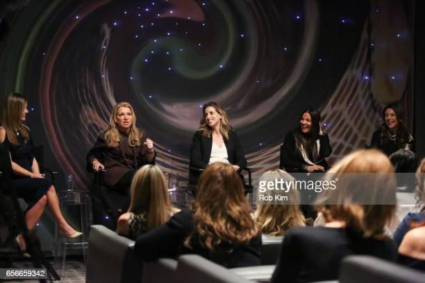 Nicole Lapin Mindy Grossman Katia Beauchamp Lavinia Errico and Lili Gil Valletta attend the Female Bosses celebration and BOSS BITCH book launch and...