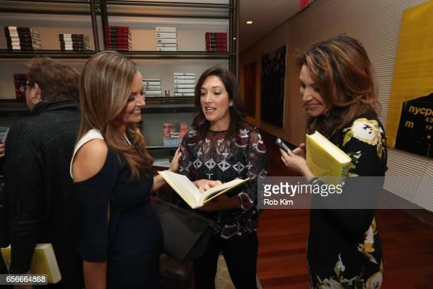 Nicole Lapin Randi Zuckerberg and Lili Gil Valletta attend the Female Bosses celebration and BOSS BITCH book launch and interactive panel event at...