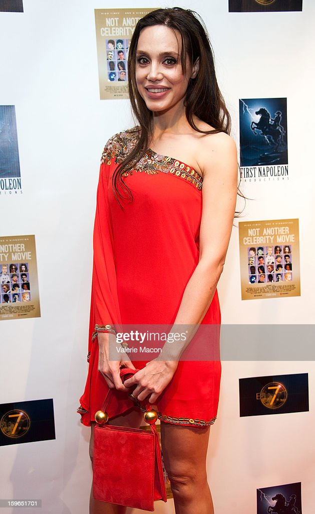 Nicole Lari-Joni arrives at the Screening Of 'Not Another Celebrity Movie' at Pacific Design Center on January 17, 2013 in West Hollywood, California.